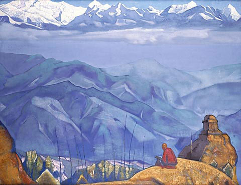 N.K. Roerich. «Book of Life». From «His country» series. 1924.