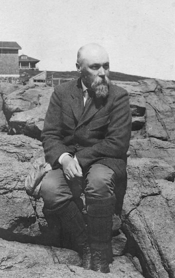Nicholas Roerich. July–August, 1922. Monhegan, Maine. Courtesy of N. Roerich Museum, New York.