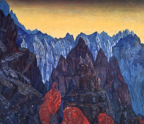 N.K. Roerich. «Cry of the Serpent». 1914.