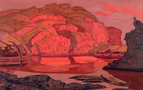 N.K. Roerich. «Hidden Treasure». From «Heroica» suite. 1917.